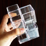 Acrylic Cosmetics & Brush Holder Organizer
