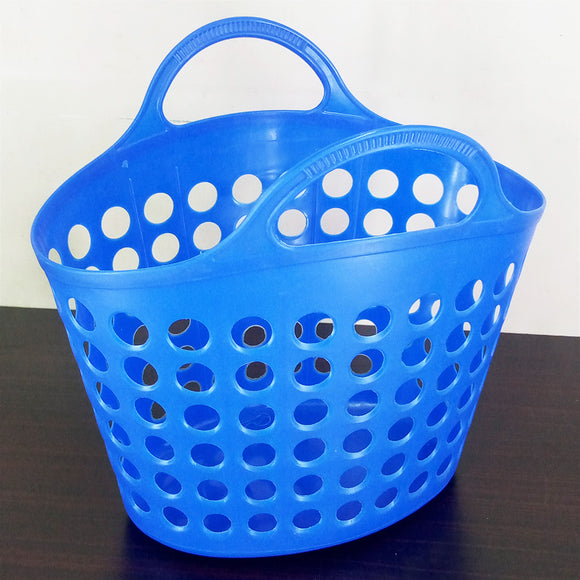 Grocery Carry Handle Plastic Basket