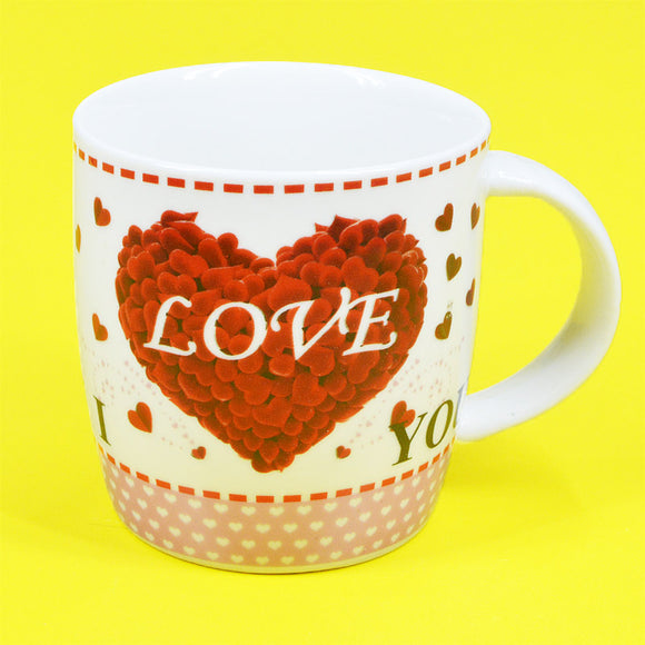 I Love You Ceramic Mug