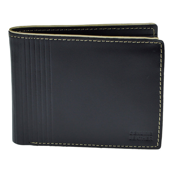 Black Genuine Leather Wallet For Men
