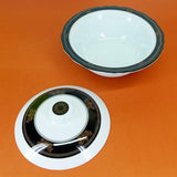 Double Glazed Heavy Melamine Plastic Large Size 9.5 inches Dinning Serving Bowl With Cover