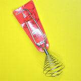 Stainless Steel Spring Egg Beater