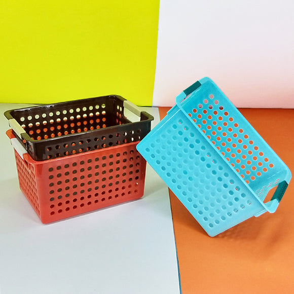 Next Space-Saving Small-Size Fridge & Multi-Purpose Storage Basket