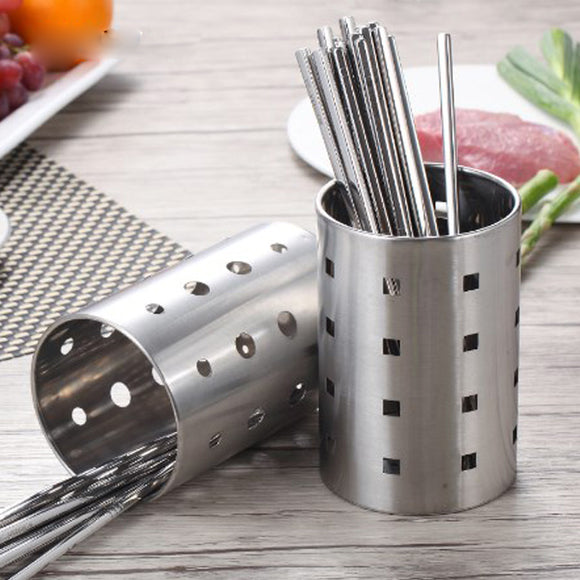 Stainless Steel Cutlery & Multi-Purpose Stand