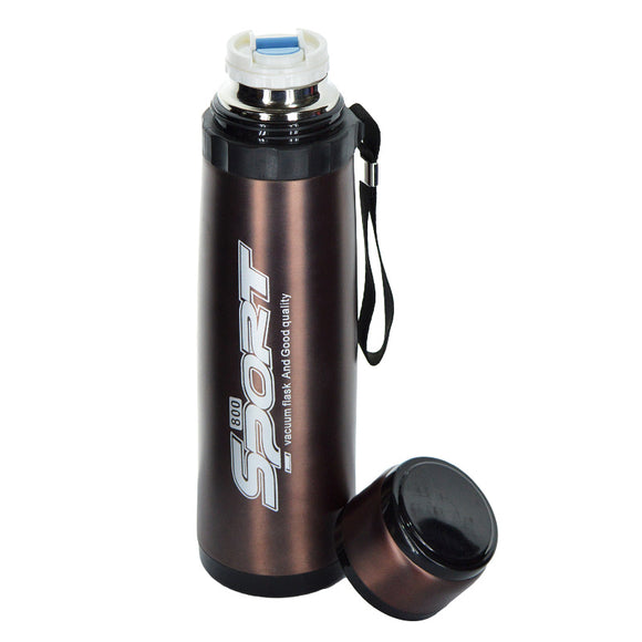 Sports Stainless Steel 800ml Water Bottle