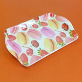 Printed Small Size Melamine 8 X 5 inches Serving Tray