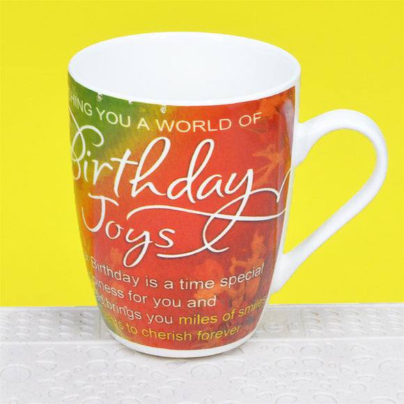 Happy Birthday Ceramic Mug