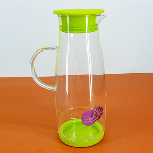 Pye Imported Quality 1200ml Glass Oil Jug With Silicon Air-Tight Cap