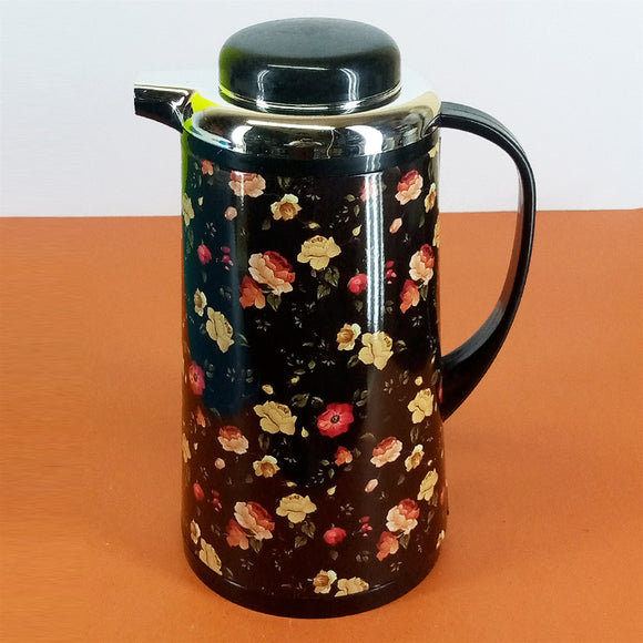 Hit 1-Litre Tea &  Coffee Thermal Flask Inside Glass