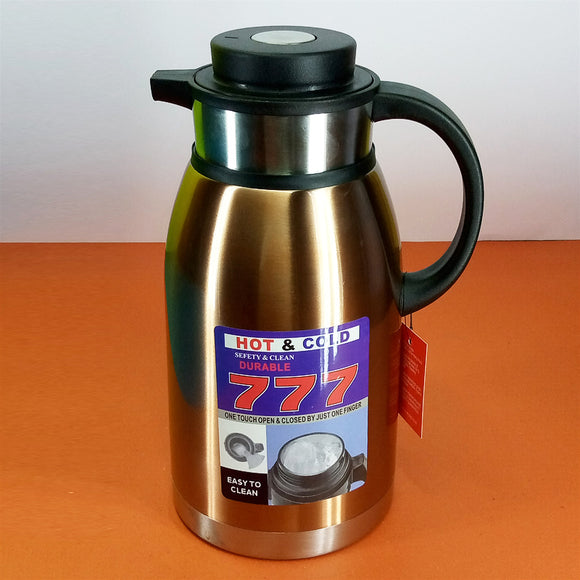 Full Stainless Steel 2.5-Litres Tea / Coffee Thermal / Vaccuum Flask
