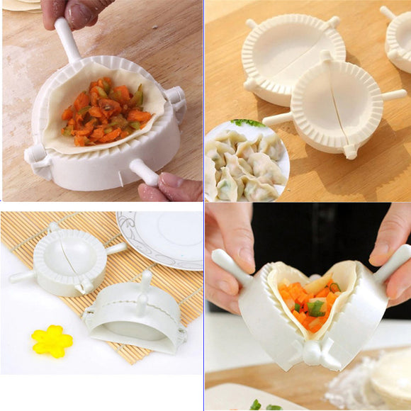 3pcs Plastic Dumpling / Samosa Making Mold