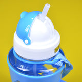 Apple Baby Plastic 300ml Bottle With Nipple Straw