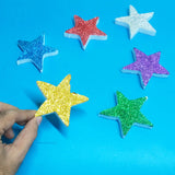 Pack Of 12pcs Thermocol Decoration Stars