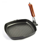 Non-Stick 24-Cm Square Grill Pan