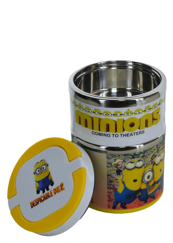 Despicable Two Layers 930ml Stainless Steel Lunch / Tiffin Box