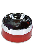 Plastic Ashtray With Turning Lid