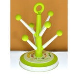 Canoy Plastic Tree Cup & Glasses Holder Stand