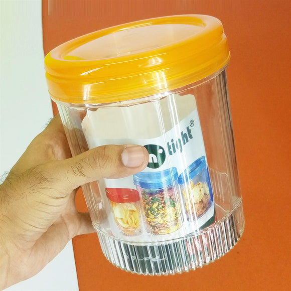 Phoenix Delight Plastic 1250ml Storage Jar
