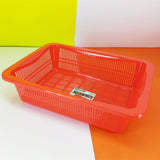 Multipurpose 13 x 10 inches Plastic Storage Medium-Size Basket