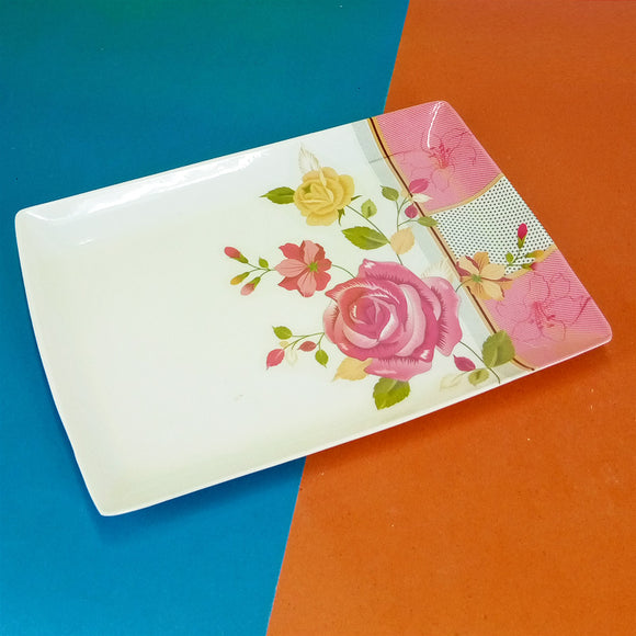 Melamine Plastic Medium Size Tray