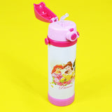 Princess Stainless Steel 500ml  Water Bottle With Straw