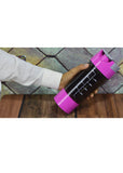 Black Transparent Acrylic Plastic Sports Gym Shaker Bottle