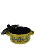 Ceramic 400ml Soup Bowl With Lid