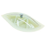 Appollo Kabul Leaf Shaped Plastic Serving & Dry-Fruit Tray With Cover