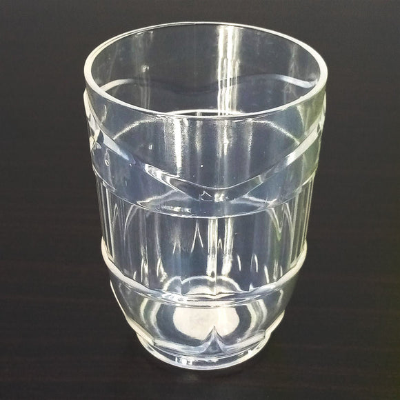 Aqua Turkish Acrylic Plastic Regular Use 300ml Glass One Piece