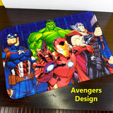 3D Character Printed Super-Soft China Velvet Door / Foot Mat 24 X 16 inches