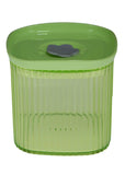 Huihuang 550ml Transparent Plastic Air Tight Storage Jar