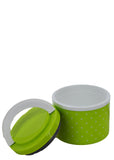 Tedemei Round Plastic Lunch / Tiffin Box