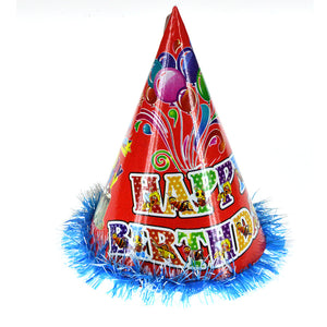 Birthday Party Cap Cone Shape