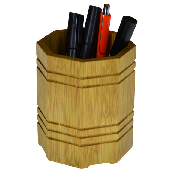 Bamboo Wooden Cutlery & Multi-Purpose Stand Holder