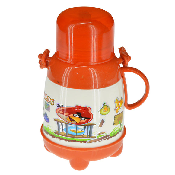 Kids Plastic 700ml School Water Cooler & Thermos With Straw