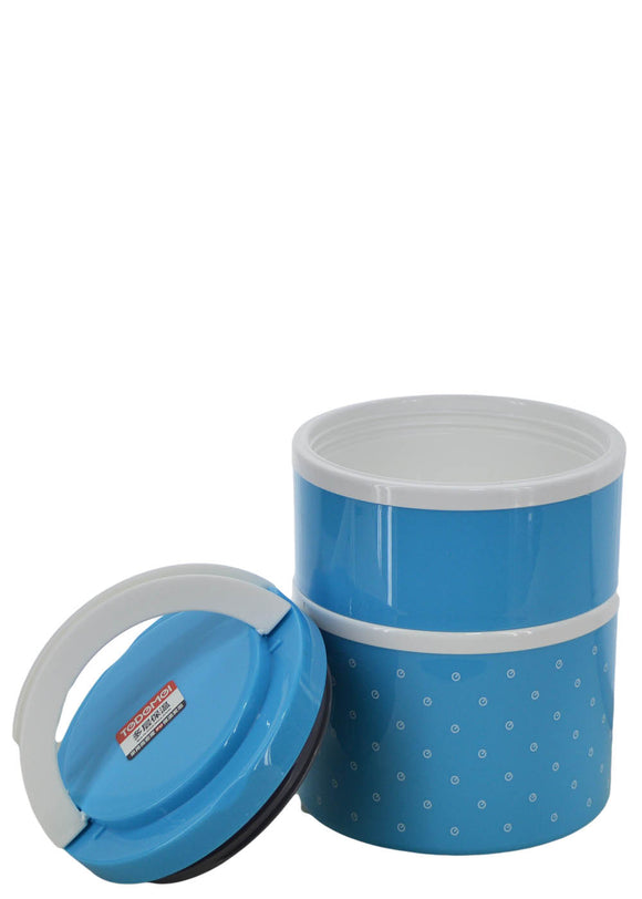 Tedemei Two Layered Plastic Lunch / Tiffin Box