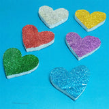 Pack Of 12pcs Thermocol Decoration Hearts