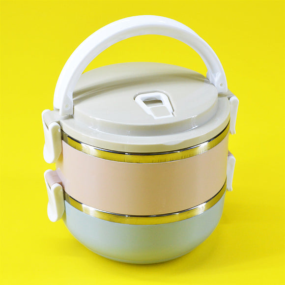 Two Layers 1800ml Stainless Steel Lunch / Tiffin Box
