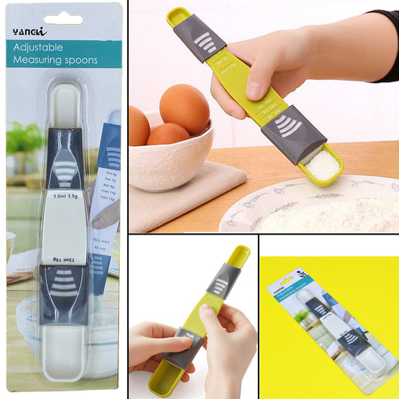 Adjustable Plastic Measuring Spoon
