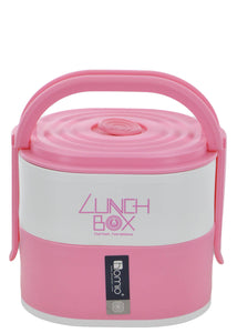 Homio Two Layered 1690ml Plastic Lunch / Tiffin Box