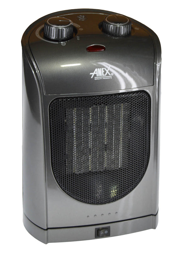 Anex Deluxe Ceramic Heater AG-3036 ( 2 Years Brand Warranty)