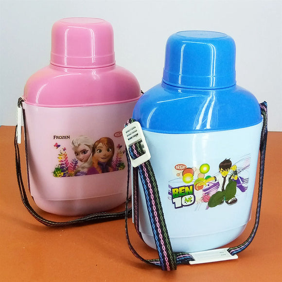 Bright Jet Cooler 1200ml Kids' School Water Cooler & Thermos