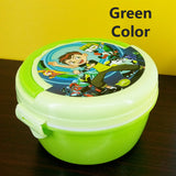 Appollo Kids Bunny Round School Plastic Tiffin & Lunch-Box