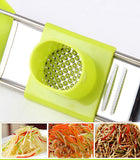 Mini Multi-Purpose Stainless Steel Garlic & Cheese Grater ( Random Colors )