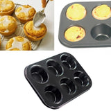 Metal 10 X 7 inches 6 Cupcakes Mould
