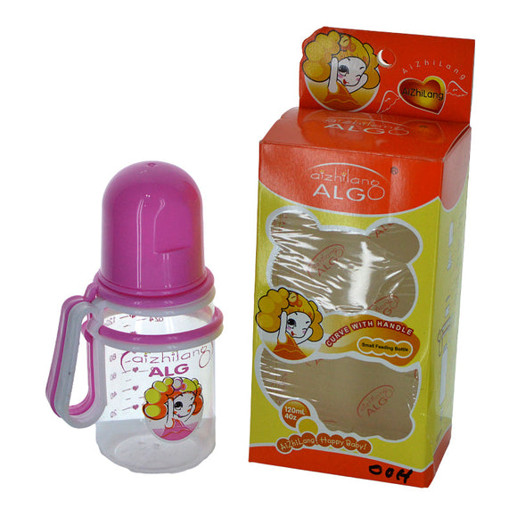 Algo Baby Plastic 120ml Feeding Bottle With Nipple