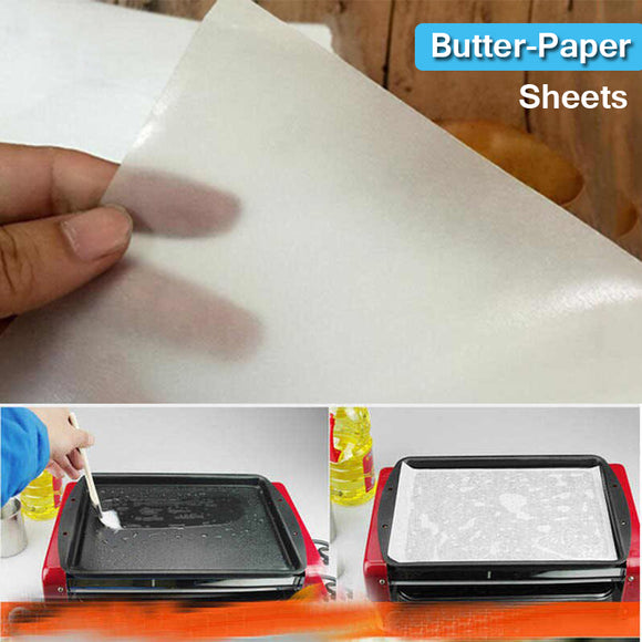 Pack Of 40pcs Sheet Butter Paper ( 9 X 9 inches-Size)