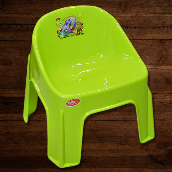 Fello Kids Plastic Chubby Chair