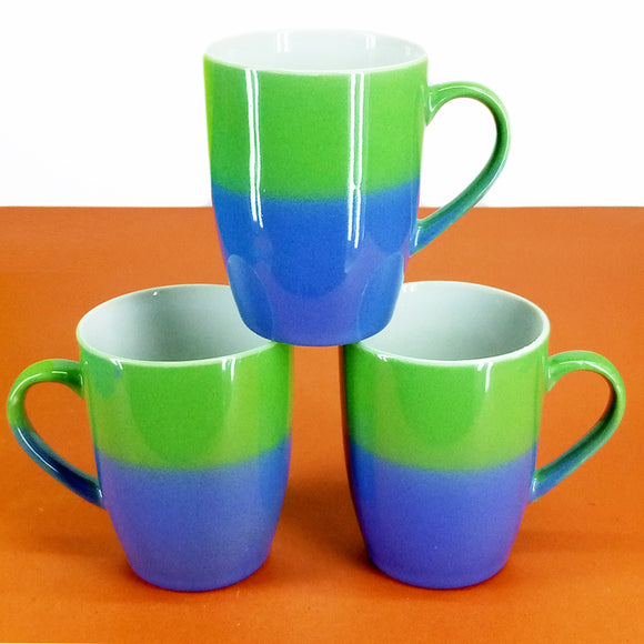Pack Of 6pcs Large Size 270ml Ceramic Mug Set