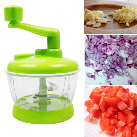 Multi-Purpose Green Manual 3-Speed Vegetables Chopper